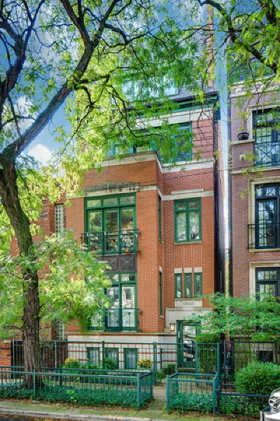 Cook County Condo/Townhouse New: 1846 North Mohawk Street #3
