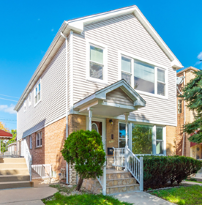 Chicago Single Family Home New: 7510 West Devon Avenue