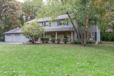 Barrington Single Family Home For Sale: 125 Whispering Oaks Lane