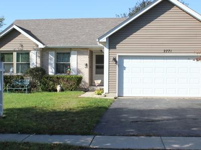 Lake In The Hills Single Family Home New: 2771 Hillsboro Lane