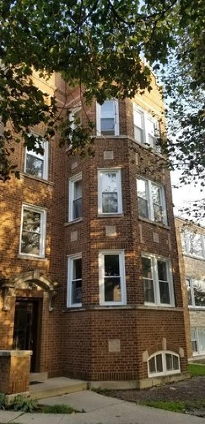 Skokie Multi Family Home For Sale: 8035 Knox Avenue