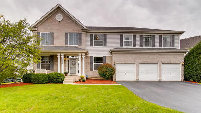 Bolingbrook Single Family Home Contingent: 824 Barclay Drive