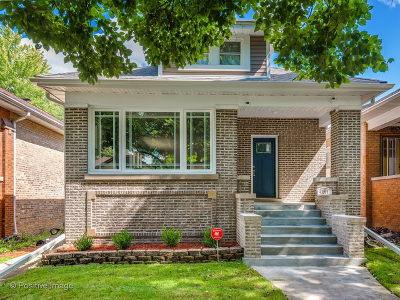 Chicago Single Family Home New: 4855 North Tripp Avenue