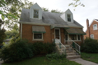 Evergreen Park Single Family Home For Sale: 9150 South Springfield Avenue South