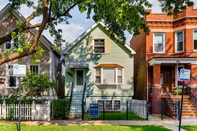 Chicago Single Family Home New: 3309 North Seeley Avenue