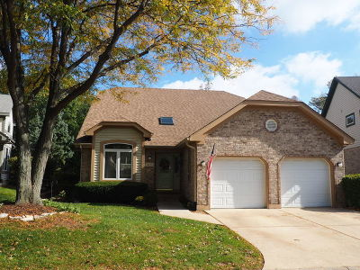 Homer Glen Single Family Home For Sale: 14435 South Provencal Drive