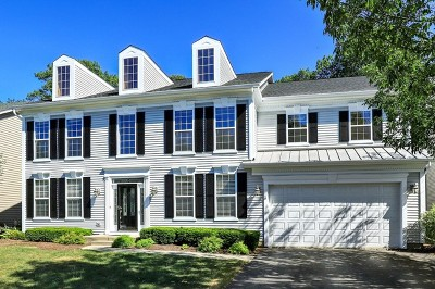 Grayslake Single Family Home For Sale: 33883 North Wooded Glen Drive
