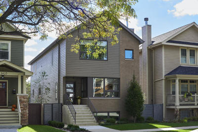 Chicago Single Family Home New: 2429 West Byron Street