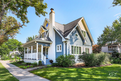 Downers Grove Single Family Home For Sale: 4701 Prince Street