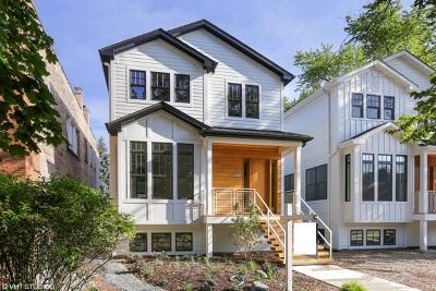 Chicago Single Family Home New: 1702 West Farragut Avenue