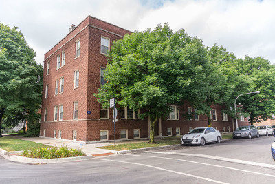 Chicago Condo/Townhouse New: 3041 West Belle Plaine Avenue #G