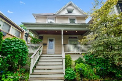 Chicago Single Family Home New: 4851 North Hermitage Avenue
