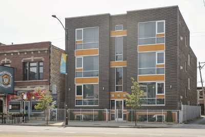 Condo/Townhouse New: 742 North Western Avenue #1N