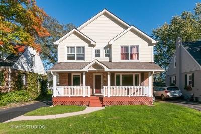 Glen Ellyn Single Family Home New: 455 Longfellow Avenue
