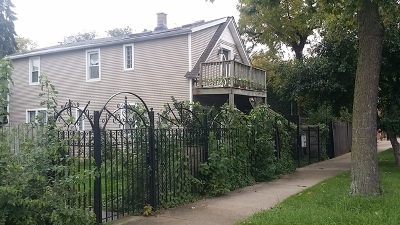 Chicago Multi Family Home Contingent: 3720 West Le Moyne Street