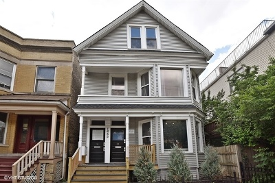 Multi Family Home For Sale: 1655 West Irving Park Road
