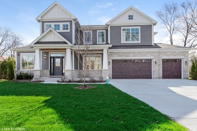 Wilmette Single Family Home For Sale: 1110 Manor Drive