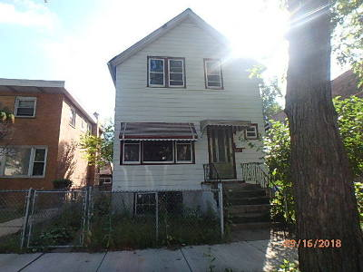Chicago Single Family Home New: 6233 South Ada Street