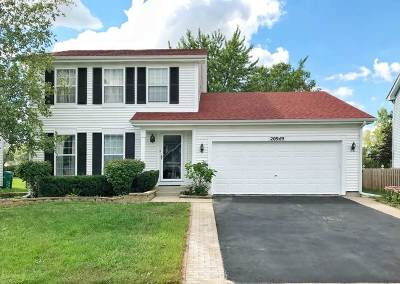 Plainfield Single Family Home For Sale: 20949 Ardmore Circle