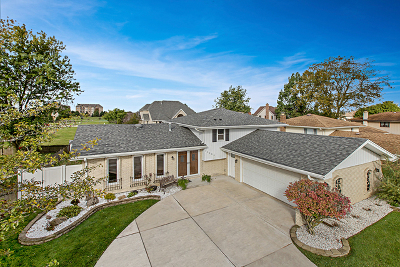 Orland Park Single Family Home New: 12334 Derby Lane
