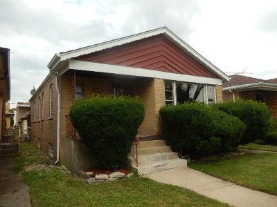 Chicago Single Family Home New: 8809 South Dorchester Avenue