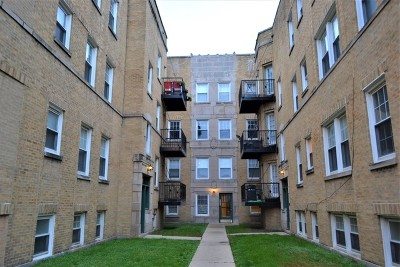 Chicago Condo/Townhouse New: 2414 West Bryn Mawr Avenue #2E