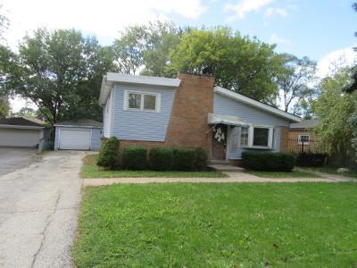 Bensenville Single Family Home Price Change: 1116 Stoneham Street