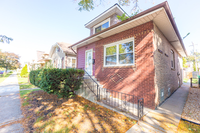 Chicago Single Family Home New: 3507 North Olcott Avenue