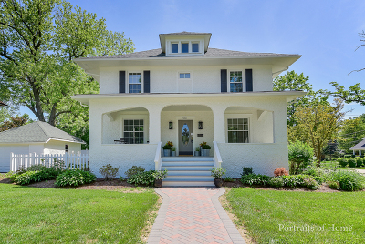 Glen Ellyn Single Family Home For Sale: 561 Hillside Avenue