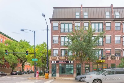 Condo/Townhouse New: 1901 West Chicago Avenue #2