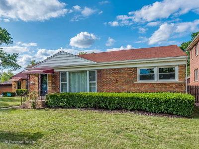 Skokie Single Family Home For Sale: 5130 Fargo Avenue
