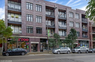 Condo/Townhouse For Sale: 2125 West Belmont Avenue #2W
