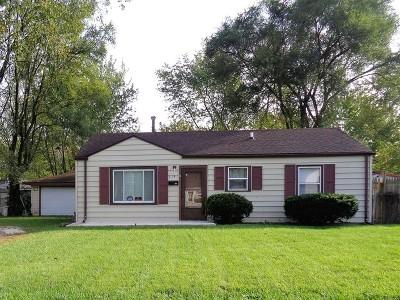 Joliet Single Family Home New: 116 Louis Road