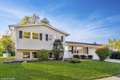 Arlington Heights Single Family Home New: 3034 North Kennicott Avenue