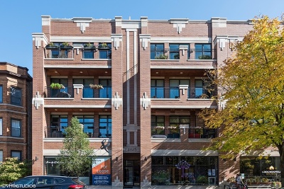 Chicago Condo/Townhouse New: 4845 North Damen Avenue #3S