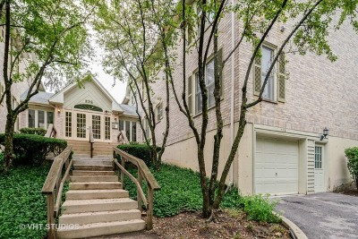 Glen Ellyn Condo/Townhouse For Sale: 528 Pershing Avenue #H