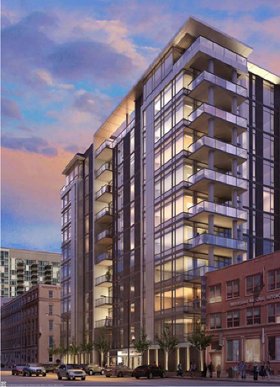 Condo/Townhouse New: 360 West Erie Street #2C