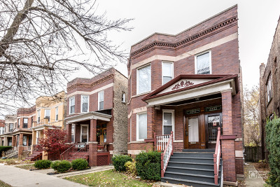 Multi Family Home For Sale: 2253 West Addison Street