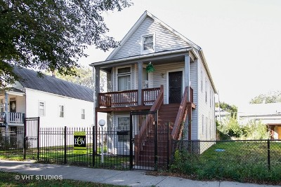 Cook County Multi Family Home New: 8320 South Kingston Avenue