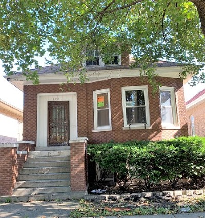 Cicero Single Family Home New: 2303 South Lombard Avenue