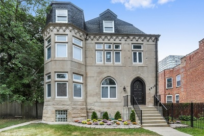 Chicago Single Family Home New: 4812 South Vincennes Avenue