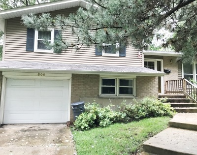 Downers Grove Single Family Home New: 600 Claremont Drive