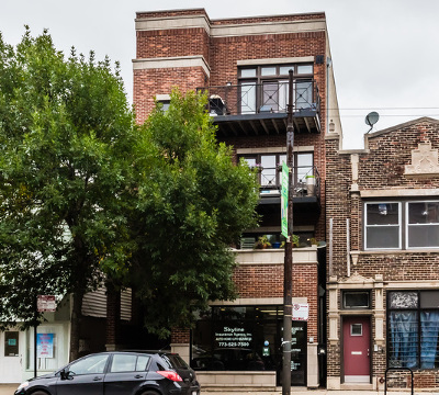Chicago Condo/Townhouse New: 2302 West Belmont Avenue #2