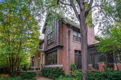 Evanston Single Family Home For Sale: 1624 Judson Avenue
