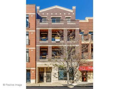 Chicago Condo/Townhouse New: 2052 West Belmont Avenue #4