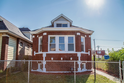 Chicago Single Family Home New: 8839 South Bishop Street