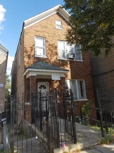 Chicago Multi Family Home New: 3659 South Wood Street