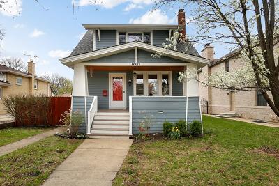 Chicago Single Family Home New: 6921 North Oriole Avenue