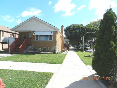 Chicago Single Family Home New: 6359 South Kilbourn Avenue