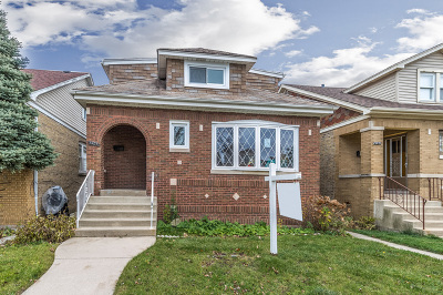 Chicago Single Family Home New: 6433 North New England Avenue